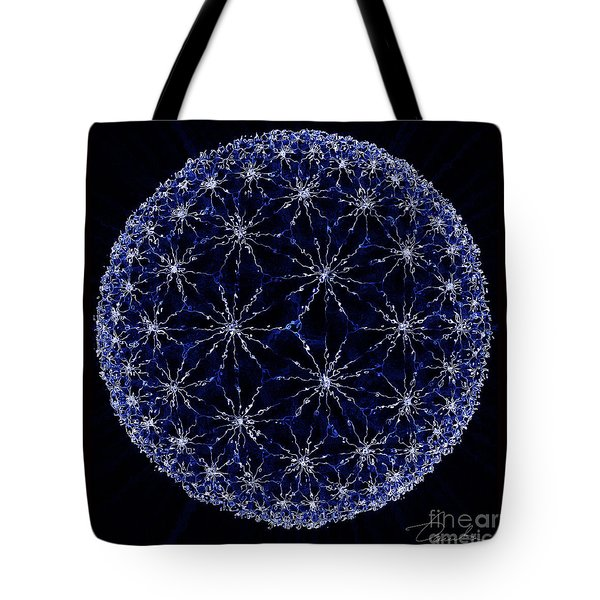 Starry Night Tote Bag by Danuta Bennett