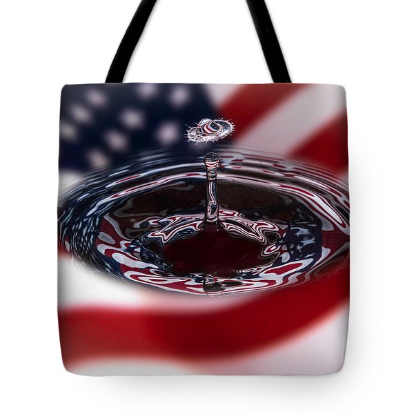 Stars And Stripes Tote Bag by Susan Candelario