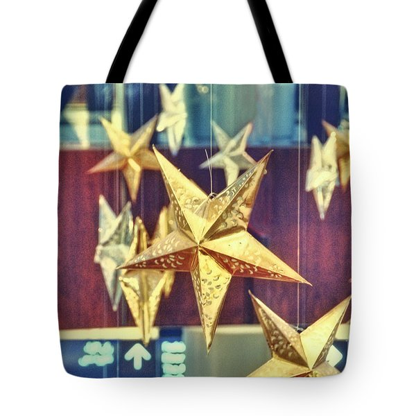 Stars Tote Bag by Charuhas Images