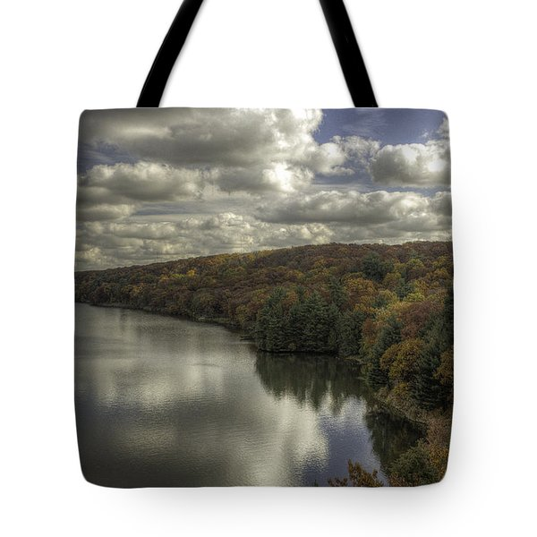 Starved Rock Fall Colors Tote Bag