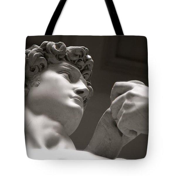 Statue Of David Tote Bag