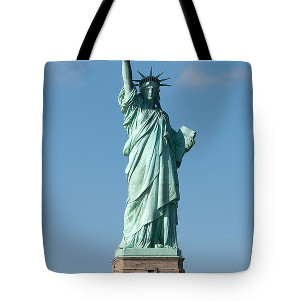 Statue Of Liberty Iv Tote Bag by Clarence Holmes