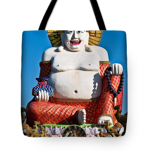 Statue Of Shiva Tote Bag by Adrian Evans