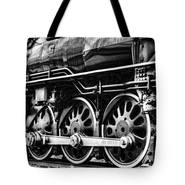 Steam Train No 844 - IIi Tote Bag by Donna Greene