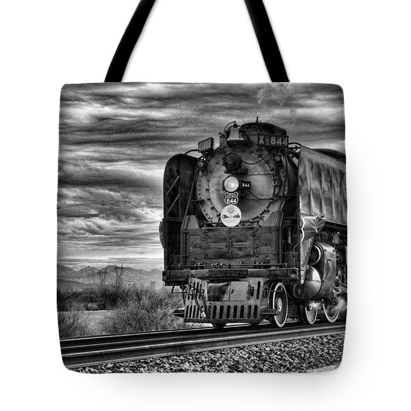 Steam Train No 844 - Iv Tote Bag