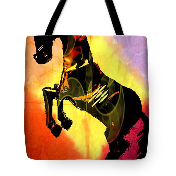 Steed 3 Tote Bag by Amber Stubbs