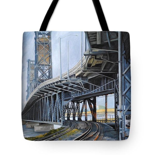 Steel Bridge 2012 Tote Bag