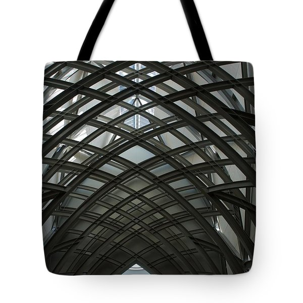 Steel Tote Bag by Joseph Yarbrough