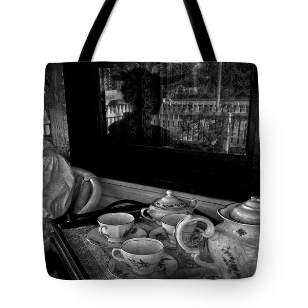 Steeped Tea Tote Bag by Empty Wall