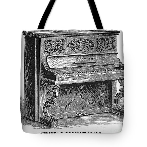 Steinway Piano, 1878 Tote Bag by Granger