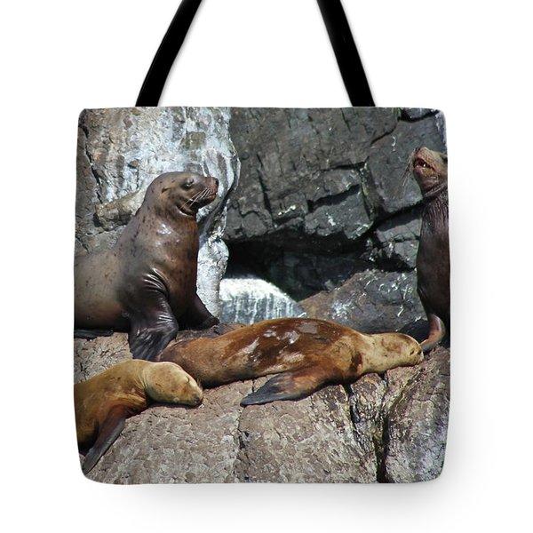 Steller Tote Bag by Rick  Monyahan