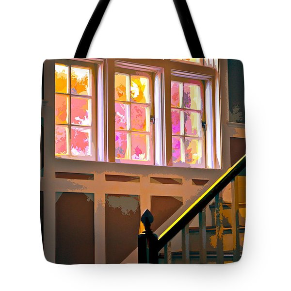 Step By Step Tote Bag by Gwyn Newcombe