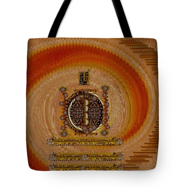 Step Into The Rainbow Temple Tote Bag