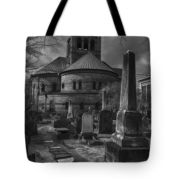 Steps Back In Time Tote Bag by Lynn Palmer