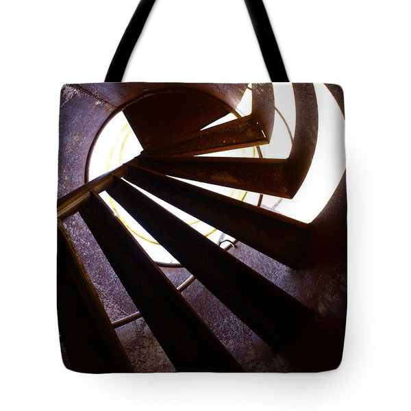 Steps Two See  Tote Bag by Empty Wall