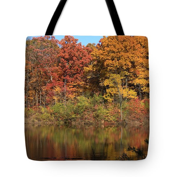 Sterling Pond Tote Bag by Lyle Hatch