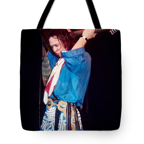Stevie Ray Vaughn Tote Bag by David Plastik