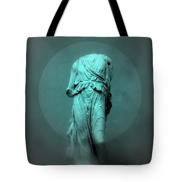 Still Life - Robed Figure Tote Bag by Kathleen Grace