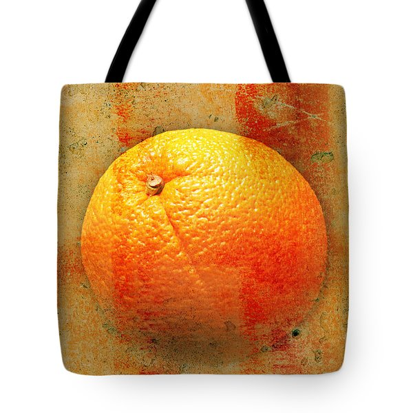 Still Life Orange Abstract Tote Bag by Andee Design