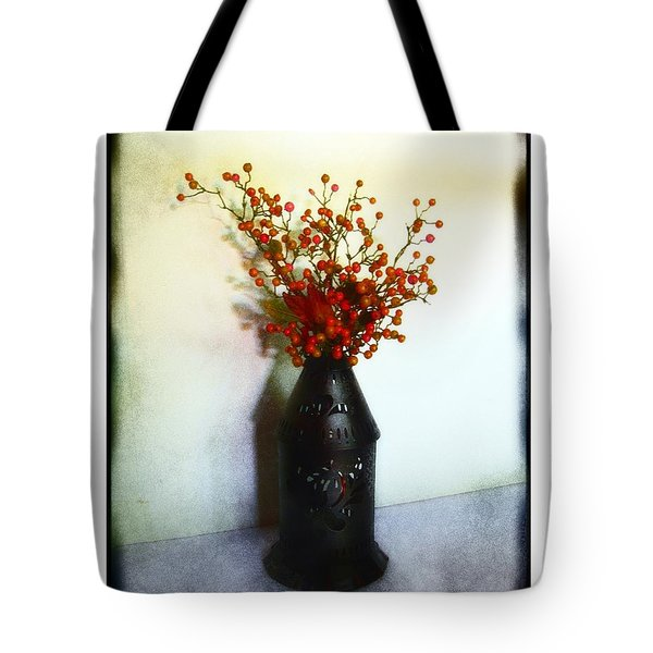 Still Life With Berries Tote Bag by Judi Bagwell