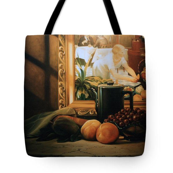 Still Life With Hopper Tote Bag by Patrick Anthony Pierson