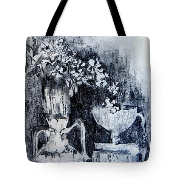 Still Life With Vases Tote Bag by Jolante Hesse