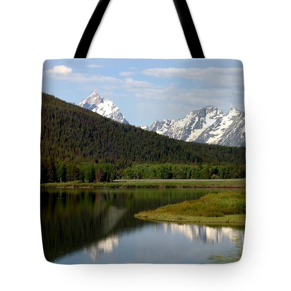 Still Waters Tote Bag by Living Color Photography Lorraine Lynch