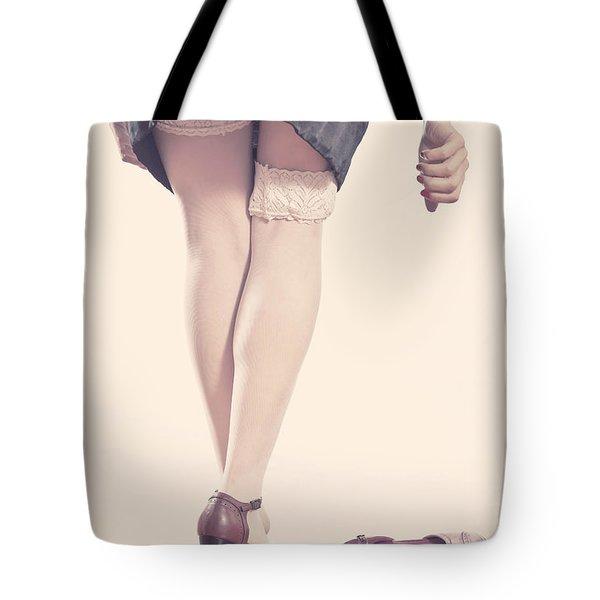 Stockings Tote Bag by Joana Kruse