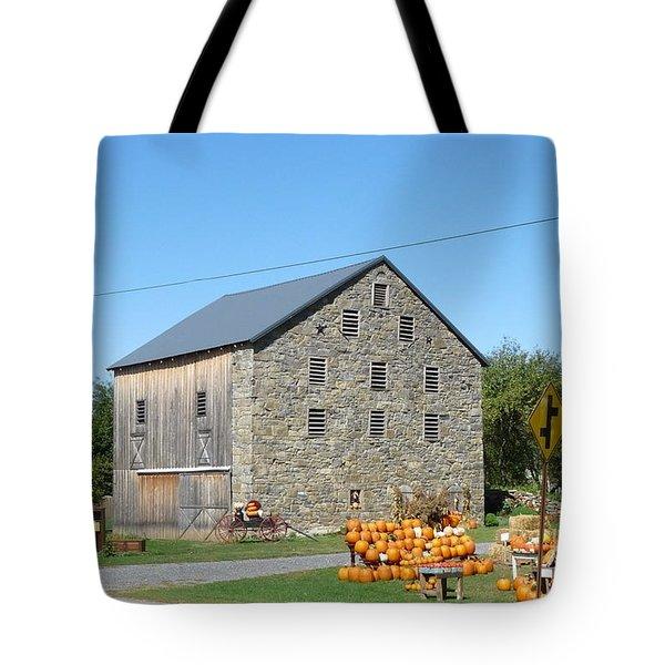 Stone Barn Tote Bag by John Turner