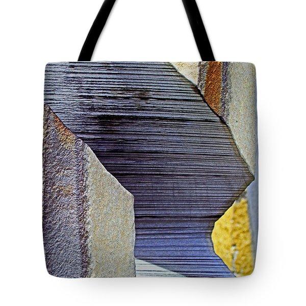 Stone Geometrics Tote Bag
