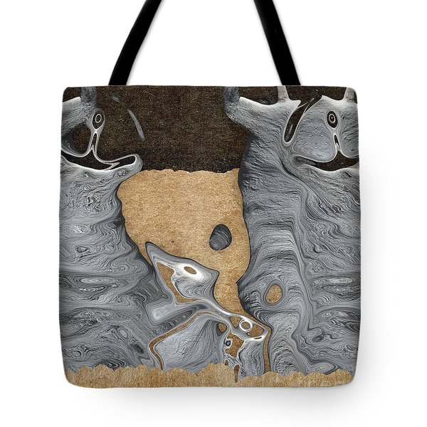 Stone Men 28 - Celebration  Tote Bag by Variance Collections
