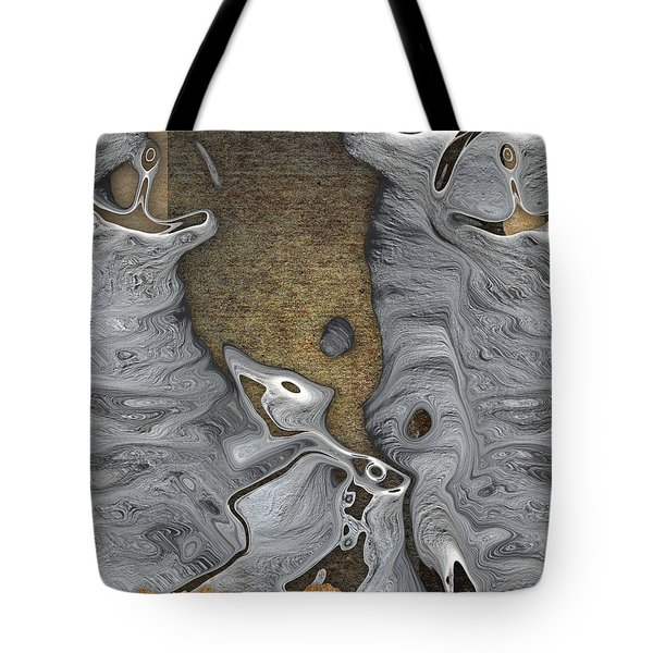Stone Men 28b - Celebration Tote Bag by Variance Collections