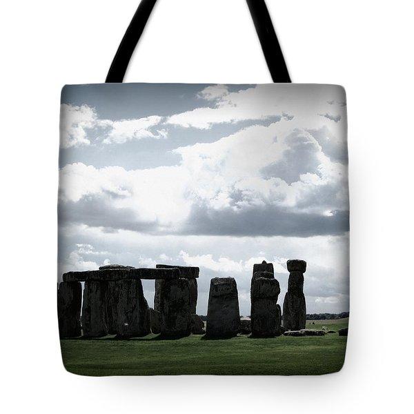 Stonehenge Tote Bag by Ian Kowalski