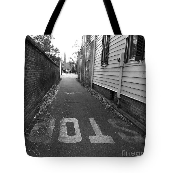 Stop Tote Bag by Andrea Anderegg
