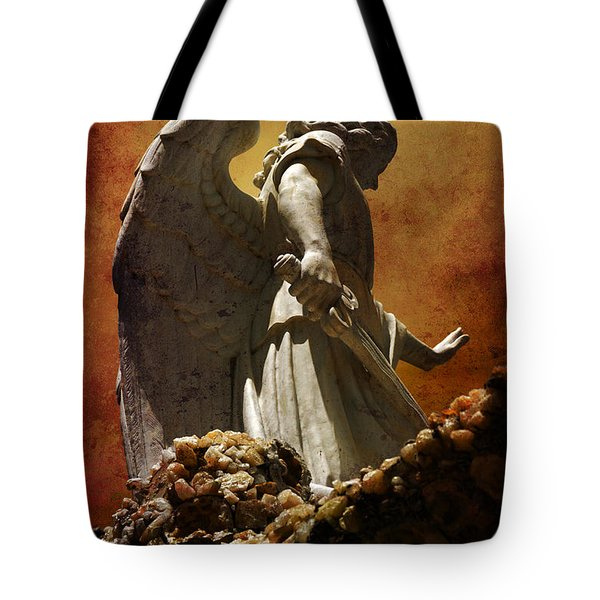 Stop In The Name Of God Tote Bag by Susanne Van Hulst