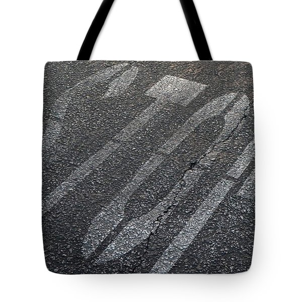 Stop Tote Bag by Nina Prommer