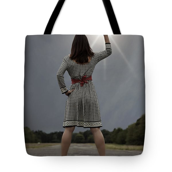 Stop The Sun Tote Bag by Joana Kruse