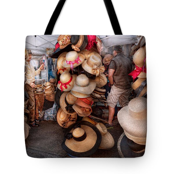 Storefront - Hat Stand Tote Bag