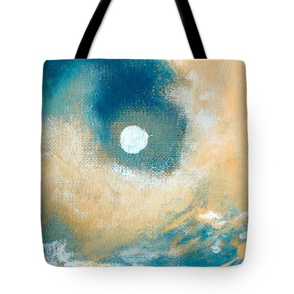 Tote Bag featuring the painting Storm by Ana Maria Edulescu