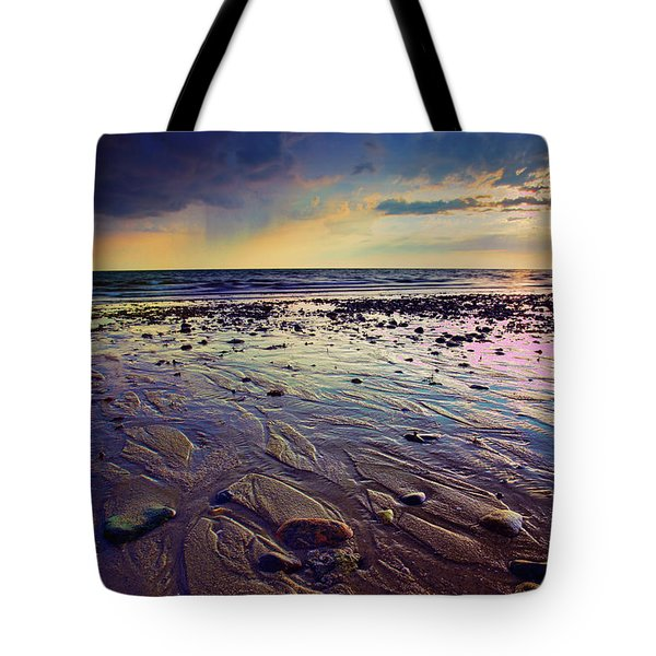 Storm And Sun Tote Bag