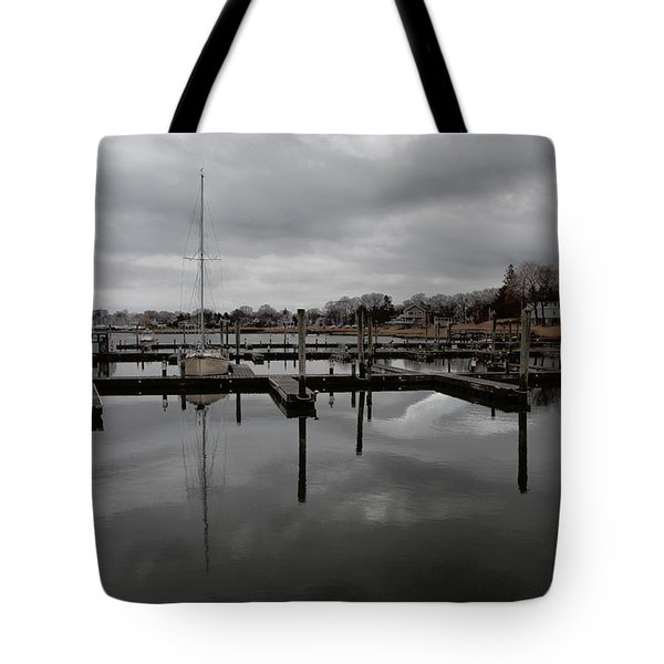 Storm Brewing In The Early Season Tote Bag by Karol Livote