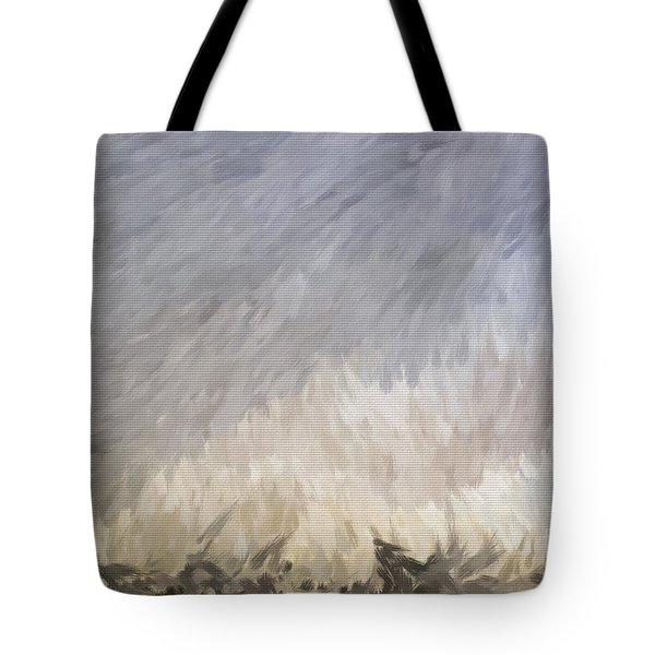 Storm In Life Tote Bag by Deborah Benoit