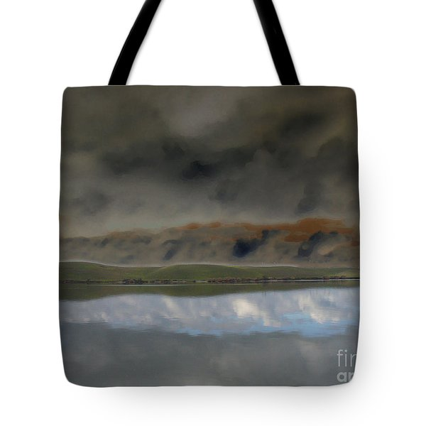 Storm On Land Tote Bag