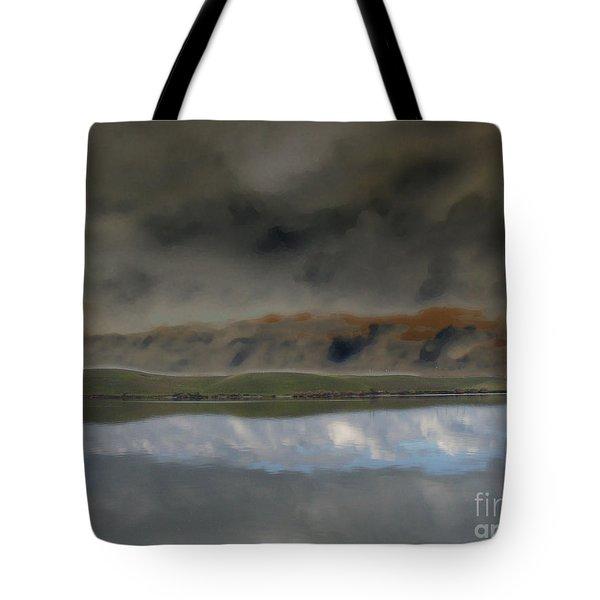 Storm On Land Tote Bag