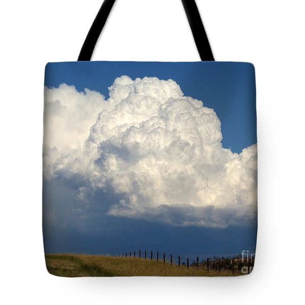 Storm's A Brewin' Tote Bag by Dorrene BrownButterfield
