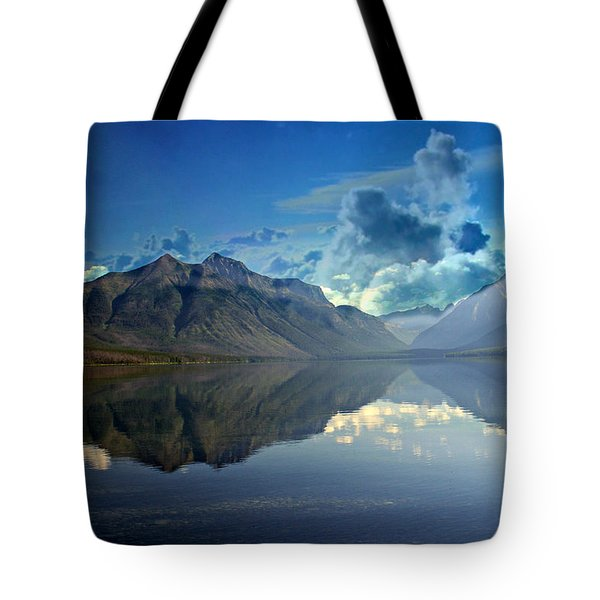 Stormy Lake Tote Bag by Marty Koch