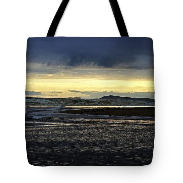Tote Bag featuring the photograph Stormy Morning 2 by Blair Stuart