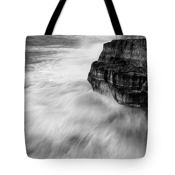 Tote Bag featuring the photograph Stormy Sea 1 by Pedro Cardona