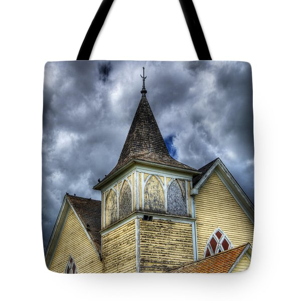 Stormy Times Tote Bag by Bob Christopher