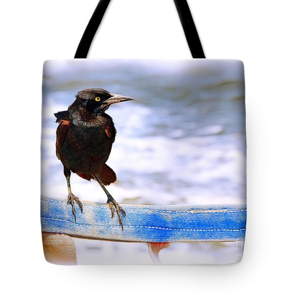 Stowaway On The Ferry Tote Bag by Judi Bagwell
